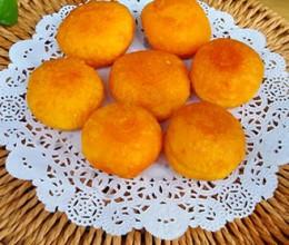 南瓜糯米球