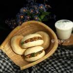 中式漢堡肉夾饃自家做