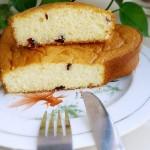 心形蔓越莓海绵蛋糕