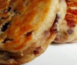 奶香红豆饼