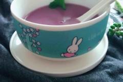 玉米紫薯糊