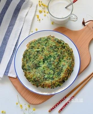 小白菜虾皮饼