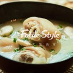白芸豆蹄花汤