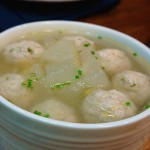 冬瓜肉丸汤里