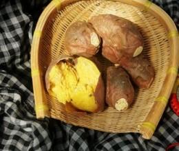在家就能烤出,糯香软甜的大地瓜