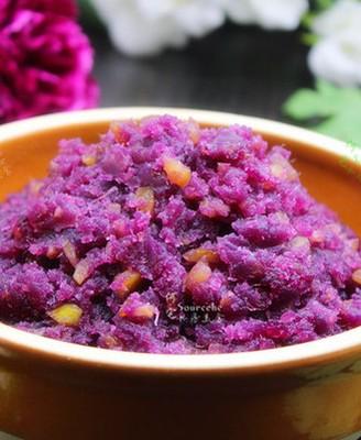 栗子紫薯馅