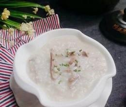 砂锅猪肝肉末粥