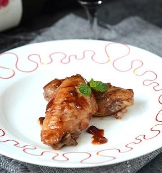 炒锅版蔓越莓酱烤鸡翅