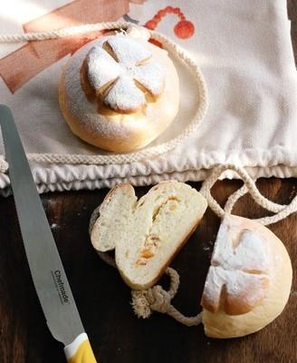 橙皮奶酪柿子面包