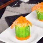 鲜虾丝瓜盅