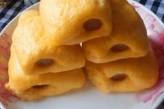 南瓜火腿卷