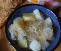 鲜淮山红薯糖水