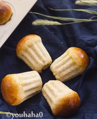 全麦蘑菇餐包