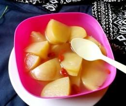 甜蜜苹果汤