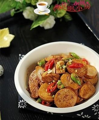 双椒素鸡炒肉片