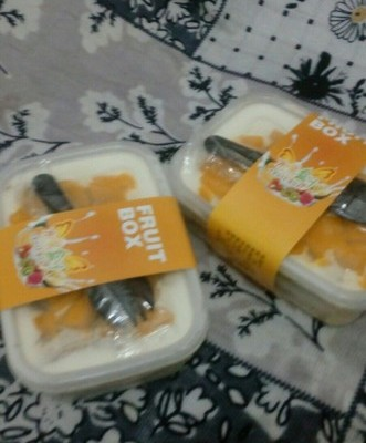 芒果盒子蛋糕
