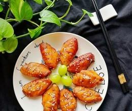 #霸王超市#黑椒烤鸡翅