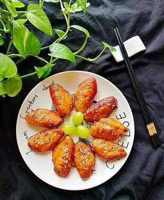 #霸王超市#黑椒烤雞翅