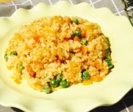 蛋黄南瓜炒饭