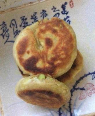 麻酱咖喱葱花饼