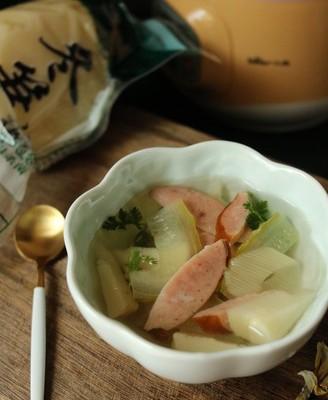 火腿冬笋汤
