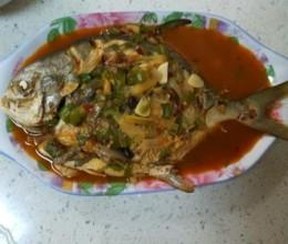 红烧金昌鱼