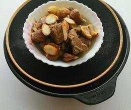 鲜人参栗子炖牛肉