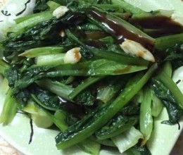 油炒油麦菜
