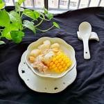 玉米淮山排骨海味汤