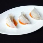 水晶河虾饺