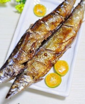 酱烧秋刀鱼