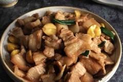 酱炒五花肉