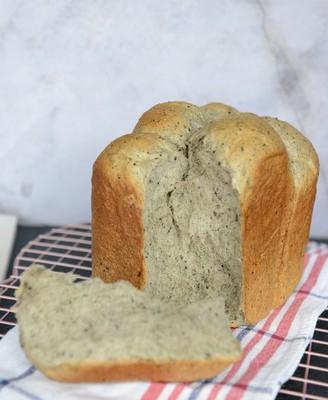 面包机版黑芝麻吐司