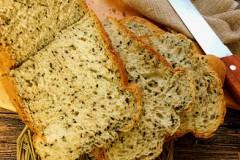 黑芝麻吐司(面包机版)