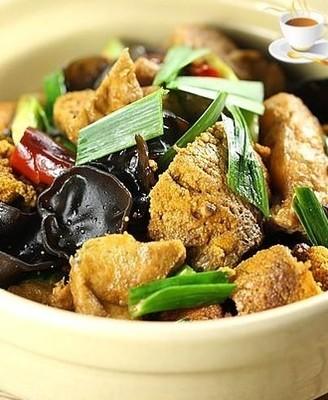 鱼籽烧油豆腐