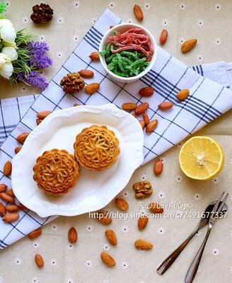 木糖醇提浆五仁月饼(80克)