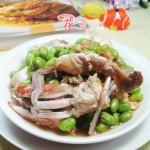 毛豆炒螃蟹