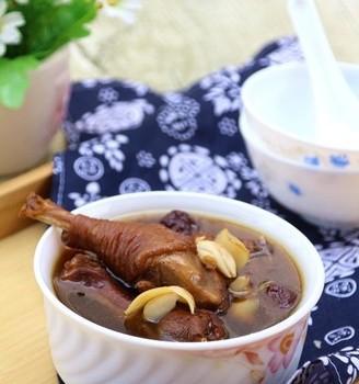 罗汉果百合鸡汤