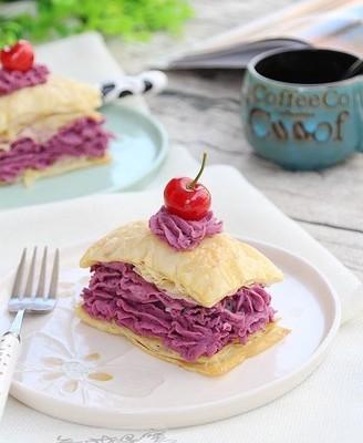 法式紫薯派