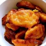 桂花柿子饼