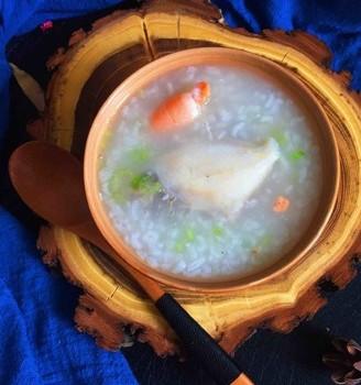 迪仔鱼海虾粥