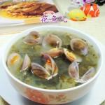 雪菜圆蛤汤