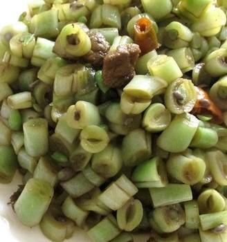 家常炒芸豆