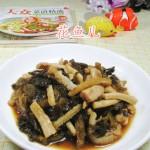 酸菜炒牛肚