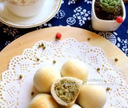 玉米油版绿豆饼