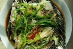 清蒸福壽魚