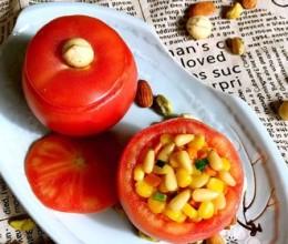 松仁玉米番茄盅