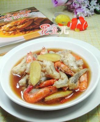 河虾煮虾潺