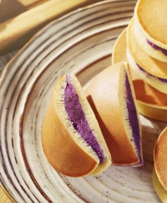 平底锅紫薯铜锣烧