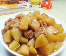 小油豆腐烧土豆